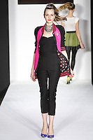 Angelica ]walks runway in a bebeBlack Fall 2011 outfit, at the Style 360 Fall 2011 fashion show, during New York Fashion Week.