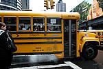 School bus. New York, NY
