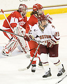 Kathryn Miller (BU - 4), Mary Restuccia (BC - 22) - The visiting Boston University Terriers defeated the Boston College Eagles 1-0 on Sunday, November 21, 2010, at Conte Forum in Chestnut Hill, Massachusetts.