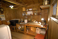 A reconstruction of the small hut in the yard of Nissin founder Momofuku Ando where he invented instant ramen. He spent one year trying to achieve the right recipe before discovering that deep frying the noodles was the solution.The Instant Ramen Museum in Ikeda, near the Japanese city of Osaka, has welcomed some 2 million visitors over the years. .