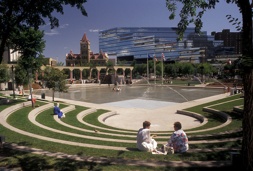 Image result for Olympic Plaza in Calgary