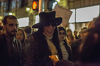 NY, NEW YORK NOVEMBER 09: The singer Cher attends to the rally anti- Trump. Hundreds of protesters gather outside Trump Tower to express their disappointment for President-elect Donald Trump in New York November 9, 2016. Photo by VIEWpress/Maite H. Mateo. Photo by