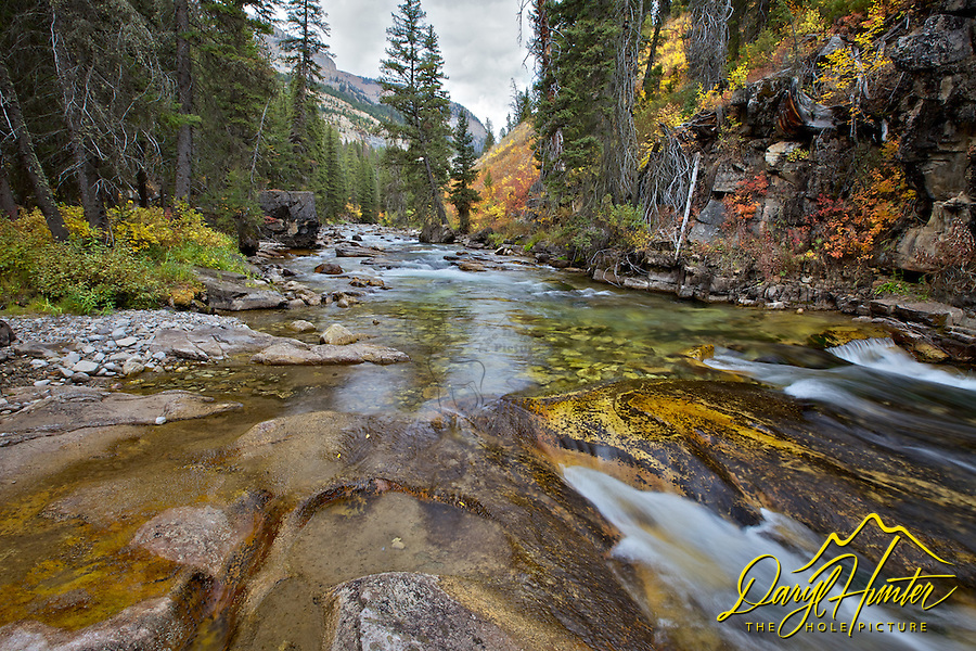 Autumn at Granite Creek, Bondurant, Wyoming