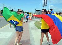 Hinchas de Colombia / Colombian Fans Brasil 2014