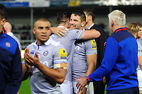 Charlie Ewels of Bath Rugby looks on after the match. Aviva Premiership match, between Exeter Chiefs and Bath Rugby on October 30, 2016 at Sandy Park in Exeter, England. Photo by: Patrick Khachfe / Onside Images