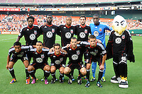 DC United starting elven.  New England Revolution defeated DC United 1-0,at RFK Stadium, Wednesday July 20, 2011.
