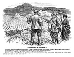 """""""Sermons in Stones."""" Tourist (of an inquiring and antiquarian turn). """"Now I suppose, farmer, that large cairn of stones has some history?"""" Highland farmer. """"Ooh, aye, that buig o' stanes has a gran' history whatever!"""" Tourist (eagerly). """"Indeed! I should like to - ?What is the legend?"""" Farmer. """"Just a gran' history!"""" (Solemnly.) """"It took a' ma cairts full and horses sax months to gather them aff the land and pit them ther-r-re!!"""""""