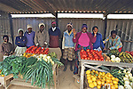 Women Venders At Mucheke Market