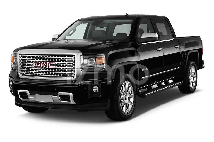 2014 gmc sierra1500 2wdcrewcabdenali 4door truck angular front jpg