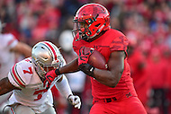 College Park, MD - NOV 12, 2016: Maryland Terrapins running back Wes Brown (5) in action during game between Maryland and Ohio State at Capital One Field at Maryland Stadium in College Park, MD. (Photo by Phil Peters/Media Images International)