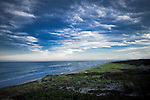 Dramatic sky and ocean along Cape Cod National Seashore, Eastham, Massachusetts, USA