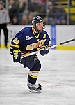 15 February 2008: Merrimack College Warriors' forward Rob Ricci, a Sophomore from Brampton, Ontario, in action against the University of Vermont Catamounts at Gutterson Fieldhouse in Burlington, Vermont. The Catamounts defeated the Warriors 4-1 in the first game of their 2-game weekend series...Mandatory Photo Credit: Ed Wolfstein Photo
