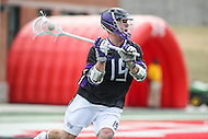 College Park, MD - February 18, 2017: High Point Panthers Michael LeClair (19) in action during game between High Point and Maryland at  Capital One Field at Maryland Stadium in College Park, MD.  (Photo by Elliott Brown/Media Images International)