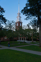 Memorial Church In Harvard Yard, Boston, Massachusetts