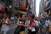 New York, New York<br /> September 21, 2014<br /> <br /> The People&rsquo;s Climate March in New York City before the United Nations summit meeting this week expected to create a framework for a potential global agreement on emissions late next year in Paris.<br /> <br /> Organizers estimate that as many as 310,000 demonstrators turned out for the march. <br /> <br /> Activist, environmentalist, economist, and writer of Anishinaabe, native American Wenona LaDuke attended the march.