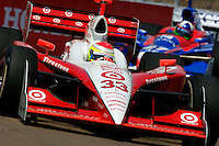 Grand Prix of St. Petersburg, 3 April, 2005.Ryan Briscoe leads Dario Franchitti..Copyright©F.Peirce Williams 2005.  ref.Digital Image Only