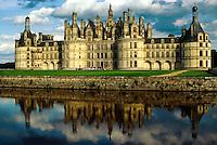 Chateau de Chambord, near Blois, Loire Valley, France