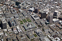 aerial photograph City Hall Civic Center San Francisco, California