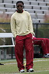11 October 2009: FSU Strength and Conditioning Coach Dwan Riggins. The Duke University Blue Devils played the Florida State University Seminoles to a 0-0 tie after overtime at Koskinen Stadium in Durham, North Carolina in an NCAA Division I Women's college soccer game.