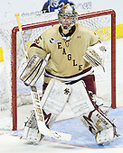 Parker Milner (BC - 35) - The Boston College Eagles defeated the University of Minnesota Duluth Bulldogs 4-0 to win the NCAA Northeast Regional on Sunday, March 25, 2012, at the DCU Center in Worcester, Massachusetts.