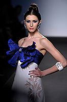 Italian fashion designer Renato Balestra featured at Rome Fashion Week,Fashion show. Presentation of S/S 2013.Italian Haute Couture collection, January 27, 2013