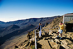 Couple at Haleakala Crater, Maui, Hawaii