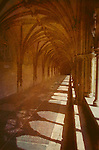 Cloisters at Norwich Cathedral in Norfolk England