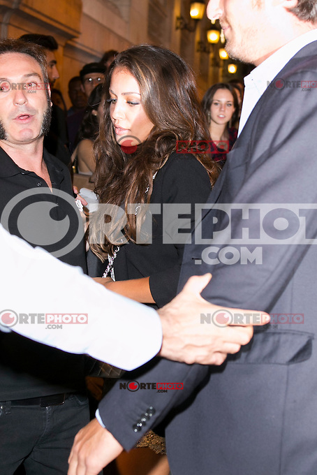 Hiba Abouk attends the party of Nike and Roberto Tisci at the Casino in Madrid, Spain. September 15, 2014. (ALTERPHOTOS/Carlos Dafonte) /NortePhoto.com