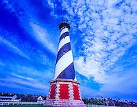 198 Feet High Cape Hatteras Lighthouse, Built in 1870, Tallest Lighthouse in U.S., Cape Hatteras National Seashore, North Carolina