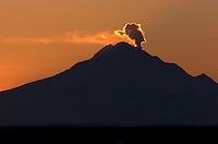 Mount Redoubt Volcano