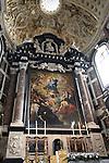 Altar of St Carolus Borromeuskerk - Charles Borromee Church; Antwerp; Belgium; Europe
