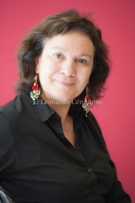 Spanish writer Clara Sanchez. Torino, maggio 2012 / La scrittrice spagnola Clara Sanchez. © Leonardo Cendamo