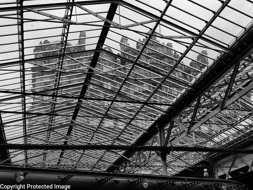 Waverley Station Edinburgh Scotland Filename Waverley Station Edinburgh Scotland Roof no 1