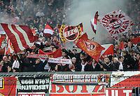 Fussball 2. Bundesliga:  Saison   2012/2013,    14. Spieltag  TSV 1860 Muenchen - 1. FC Koeln  16.11.2012 1. FC Koeln Fankurve