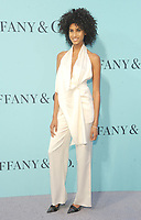 NEW YORK, NY - APRIL 21:Imaan Hammam attends Tiffany & Co Celebrates The 2017 Blue Book Collection at ST. Ann's Warehouse on April 21, 2017 in New York City. Photo by John Palmer/MediaPunch