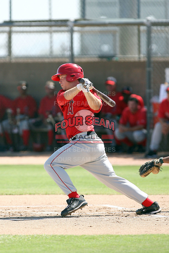 Eric Oliver - Los Angeles Angels - 2010 Instructional League.Photo by:  Bill Mitchell/Four Seam Images..