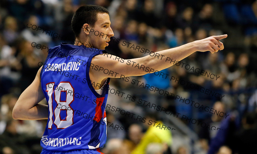 Vuk Radivojevic Aba regionalna liga Partizan - Igokea 27.12.1015. December 27. 2015. (credit image & photo: Pedja Milosavljevic / STARSPORT)