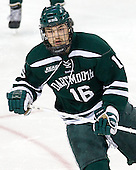 Tyler Sikura (Dartmouth - 16) - The Boston College Eagles defeated the visiting Dartmouth College Big Green 6-3 (EN) on Saturday, November 24, 2012, at Kelley Rink in Conte Forum in Chestnut Hill, Massachusetts.