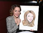 Jessie Mueller Caricature Unveiling at Sardi's