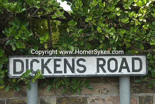 Dickens Road, Broadstairs Kent Uk.