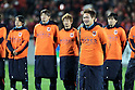 Taishi Tsukamoto (Ardija), DECEMBER 3, 2011 - Football / Soccer : Taishi Tsukamoto of Omiya Ardija bids farewell to fans after the 2011 J.League Division 1 match between Omiya Ardija 3-1 Ventforet Kofu at NACK5 Stadium Omiya in Saitama, Japan. (Photo by Hiroyuki Sato/AFLO)