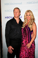 PASADENA - APR 18:  Kim Zolciak, Kroy Bermann arrives at the NBCUniversal Summer Press Day at The Langham Huntington Hotel on April 18, 2012 in Pasadena, CA