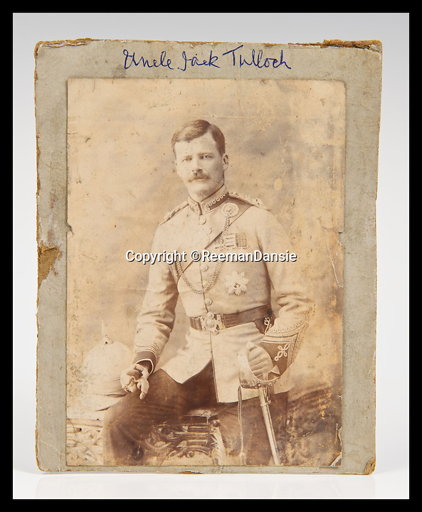 BNPS.co.uk (01202 558833)<br /> Pic: ReemanDansie/BNPS<br /> <br /> ***Please Use Full Byline***<br /> <br /> Major JAck Tulloch, the grandfather of the owner brought back the items from China. <br /> <br /> A battered bowl that was until recently the favourite sleeping place for a pet cat has sold for 108,000 pounds.<br /> <br /> The 12inch wide bowl has chips, cracks and staples in from where it was once repaired after being broken in two.<br /> <br /> Its owners kept the Chinese piece on a chest of drawers in their hallway and it was used as a bizarre bed for their moggy.<br /> <br /> Auctioneers gave it a 200 pounds estimate but were stunned when it went under the hammer for 90,000 pounds, or 108,000 pounds including fees.