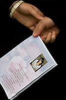 13/10/09 Erkine Bridge girl's funeral