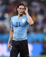 FUSSBALL WM 2014  VORRUNDE    GRUPPE D     Uruguay - England                     19.06.2014 Edinson Cavani (Uruguay)