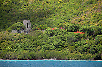 Annaberg Ruins, St. John.Virgin Islands National Park.U.S. Virgin Islands