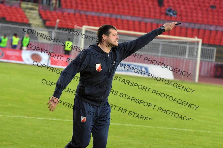 Fudbal Soccer<br /> Vojvodina Vozdovac prvenstvo Srbije<br /> Jelen Super Liga<br /> Nenad Lalatovic<br /> Novi Sad 28.04.2016<br /> Foto: Nenad Mihajlovic/Starsportphoto