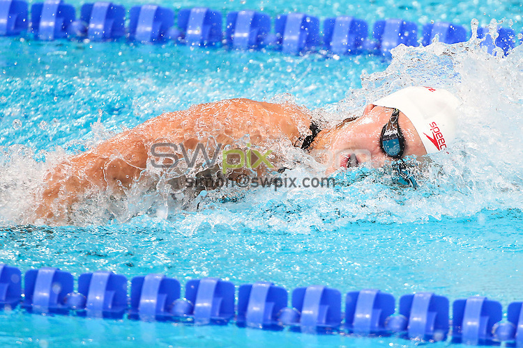 Picture by Alex Whitehead/SWpix.com - 06/08/2015 - Swimming - 16th FINA World Swimming Championships 2015 - Kazan Arena Stadium, Kazan, Russia - Canada's Michelle Williams.