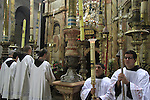 Israel, Jerusalem, the feast of Corpus Christi at the Church of the Holy Sepulchre
