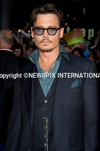 """JOHNNY DEPP.Pirates Of The Caribean, On Stranger Tides Premiere at The Vue Cinema, Wetsfield London_12/05/2011.Mandatory Photo Credit: ©Dias/Newspix International..**ALL FEES PAYABLE TO: """"NEWSPIX INTERNATIONAL""""**..PHOTO CREDIT MANDATORY!!: NEWSPIX INTERNATIONAL(Failure to credit will incur a surcharge of 100% of reproduction fees)..IMMEDIATE CONFIRMATION OF USAGE REQUIRED:.Newspix International, 31 Chinnery Hill, Bishop's Stortford, ENGLAND CM23 3PS.Tel:+441279 324672  ; Fax: +441279656877.Mobile:  0777568 1153.e-mail: info@newspixinternational.co.uk"""